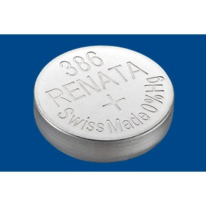 386 Μπαταρία ρολογιών Renata