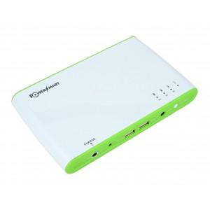EL1697 Power Bank, Li-ion, 12-24V-27000mAh/97Wh (πράσινο) Panasonic cell