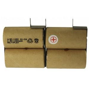 4/SC-1400+ B&D tags Ni-Cd μπαταρία για φορητά σκουπάκια