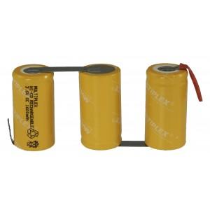 3/SC-1600+ tags Ni-Cd μπαταρία για φορητά σκουπάκια