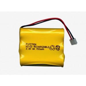 3/AA-700+G. Electric plug Μπαταρία για ασύρματα τηλέφωνα