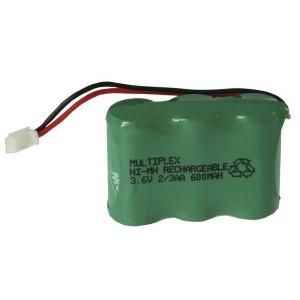 3/2.3AA+600+Aloris plug μπαταρία για ασύρματα τηλέφωνα