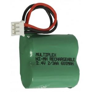 2/2.3AA-600+Xalio plug Μπαταρία για ασύρματα τηλέφωνα