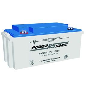 PS-12650 Vds Powersonic μπαταρία μολύβδου κλειστού τύπου 12V - 65Ah (sealed lead acid)