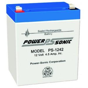 PS-1242 Powersonic μπαταρία μολύβδου κλειστού τύπου 12V - 4.5Ah (sealed lead acid)