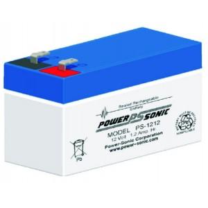 PS-1212 Vds Powersonic μπαταρία μολύβδου κλειστού τύπου 12V - 1.2Ah (sealed lead acid)
