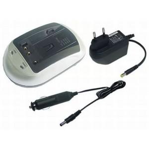 P408 Σετ από φορτιστή για μπαταρίες Li-ion για βιντεοκάμερες & ψηφιακές φωτογραφικές μηχανές.