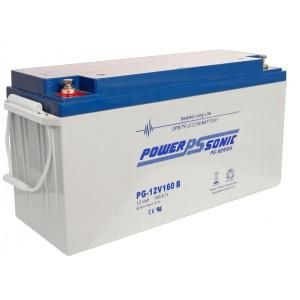PG12V160 Powersonic Μπαταρία μολύβδου κλειστού τύπου  για UPS 12V -160Ah (sealed lead acid)