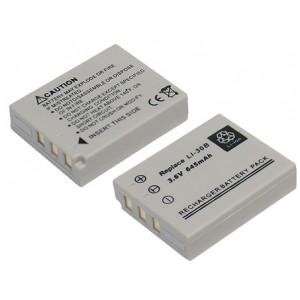 PL130 (645mAh) Μπαταρία για Olympus Stylus Verve Digital ψηφιακές φωτογραφικές μηχανές