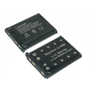 PL140 (620mAh) Μπαταρία για Casio EXILIM EX-G1, Fujifilm, Kodak, Nikon, Olympus και Pentax ψηφιακές φωτογραφικές μηχανές