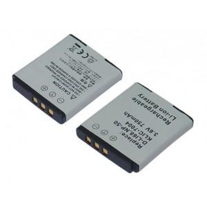 PL368 (750mAh) Μπαταρία για Fujifilm FinePix F100fd, Kodak, Pentax ψηφιακές φωτογραφικές μηχανές