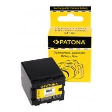 1105 (2500mAh) Μπαταρία Patona για Panasonic SD900 Βιντεοκάμερες