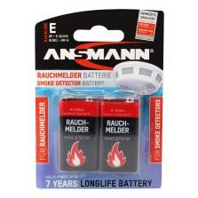 Μπαταρία Αλκαλική πλακέ Ansmann 9V