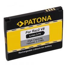3178 (750mAh) Μπαταρία Patona για Κινητά τηλέφωνα Motorola Moto U8