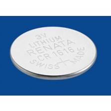 CR1616 Renata Μπαταρία λιθίου 3V - 50mAh