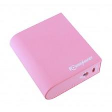 Power Bank EL531, Li-ion, 6800mAh/24Wh (ροζ) Panasonic cell