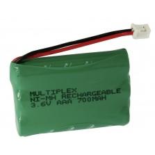 3/AAA-700+Eriscon Plug Μπαταρία για ασύρματα τηλέφωνα
