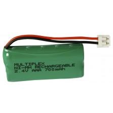 2/AAA-700+G. electric plug Μπαταρία για ασύρματα τηλέφωνα