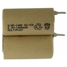 2/SC-1400+tags Ni-Cd μπαταρία για φορητά σκουπάκια