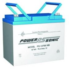 PS-12750 Powersonic Μπαταρία μολύβδου κλειστού τύπου 12V - 75Ah (sealed lead acid)
