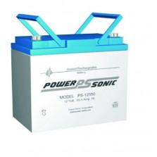 PS-12550 Powersonic μπαταρία μολύβδου κλειστού τύπου 12V - 55Ah (sealed lead acid)