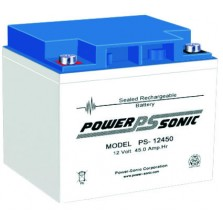 PS-12450 Vds Powersonic μπαταρία μολύβδου κλειστού τύπου 12V - 45Ah (sealed lead acid)