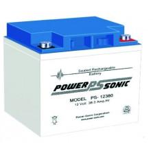 PS-12380 Powersonic μπαταρία μολύβδου κλειστού τύπου 12V - 38Ah (sealed lead acid)