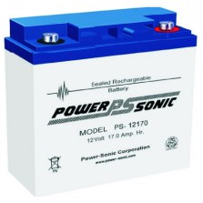 PS-12170Vds Powersonic μπαταρία μολύβδου κλειστού τύπου 12V - 17Ah (sealed lead acid)