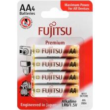 LR6TR αλκαλική μπαταρία blister 4τεμ Fujitsu Premium Made in Japan
