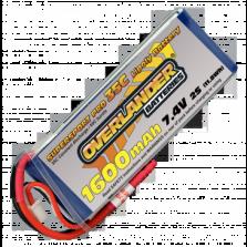 Μπαταρία Lipo 1600 mAh 7.4v SuperSportPro Overlander
