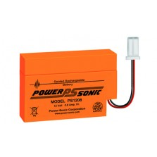 PS-1208 Powersonic Μπαταρία μολύβδου κλειστού τύπου 12V - 800mAh (sealed lead acid)