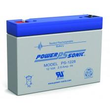 PS-1228 Powersonic Μπαταρία μολύβδου κλειστού τύπου 12V - 2.8Ah (sealed lead acid)