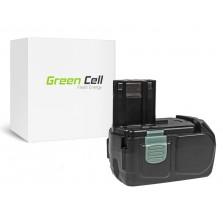 PT122 (2500mAh) Μπαταρία Green Cell για εργαλεία WH 14D 14.4V Hitachi