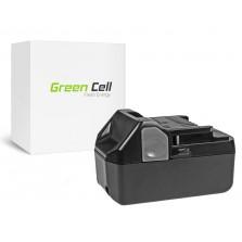 PT124 (4000mAh) Μπαταρία Green Cell για εργαλεία C 18DL 18V Hitachi