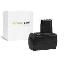 PT150 (3000mAh) Μπαταρία Green Cell για εργαλεία BSZ 12 Impuls 12V Metabo