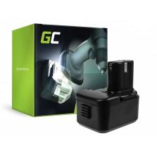 PT216 (3000mAh) Μπαταρία Green Cell για εργαλεία CK 12D 9.6V Hitachi
