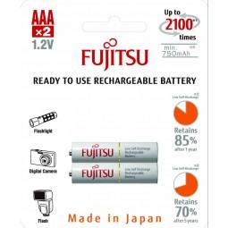 HR-4UTC  AAA  750mAh R.U. (2B) άσπρη Fujitsu Επαναφορτιζόμενη Ready To use